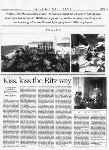 Kiss, Kiss the Ritz Way