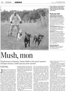 Mush Mon: Dogsledding in Jamaica