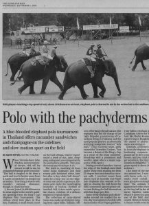 Polo with the Pachyderms
